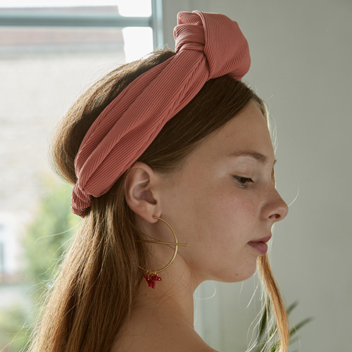 HAIRBAND BBEN PEACH